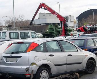 Recogida de coches diesel para desguace