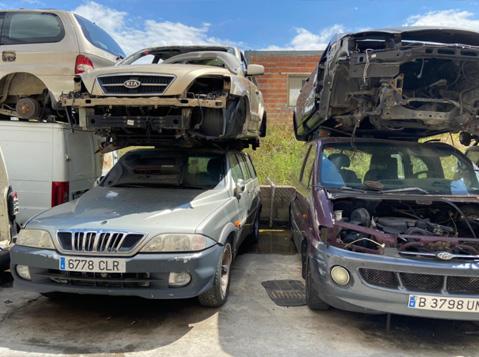Venta de recambios para vehículos nuevos y usados